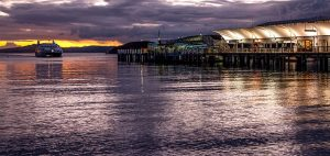 Ferry arriving at Matiatia at dusk 300x142 - Gallery