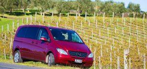 Geoff's minivan