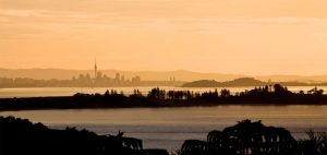 Looking back to Auckland at dusk 300x142 - Gallery